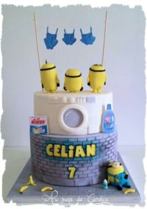 cake design con i Minions!