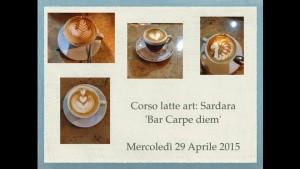 Corso di latte art in Sardegna!