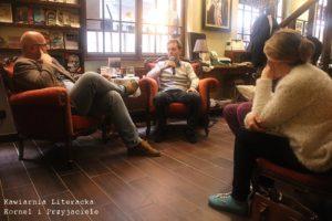 L'incontro con un autore al Kornel...