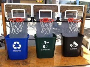 Idee per i rifiuti in un bar: buttare la spazzatura diventa un gran gioco!