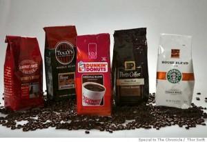 Marche di caffè, anche se americane...