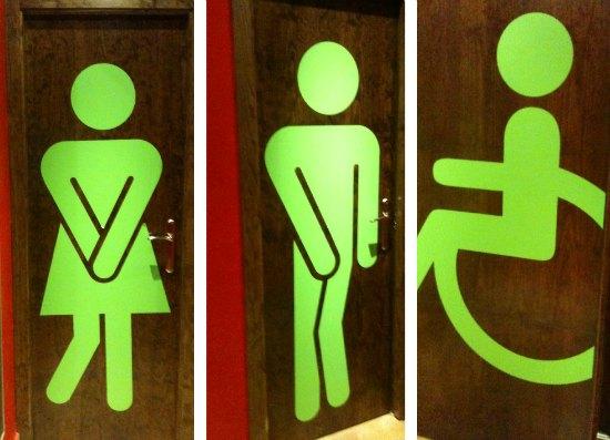 Quanti bagni occorrono per il pubblico di un bar o di un ristorante aprire un bar - Donne al bagno pubblico ...
