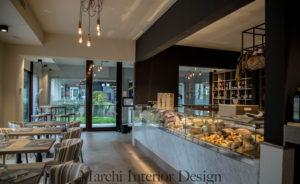 Un locale realizzato da Marchi Design
