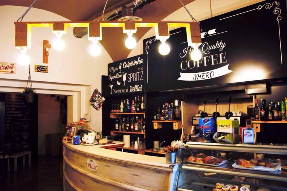 Nhero Caffè a Baronissi di Salerno.