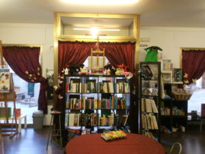 La libreria all'interno
