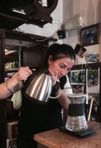 Vi immaginereste di trovare coffee brewing in un piccolo paese? Da Silvia sì!