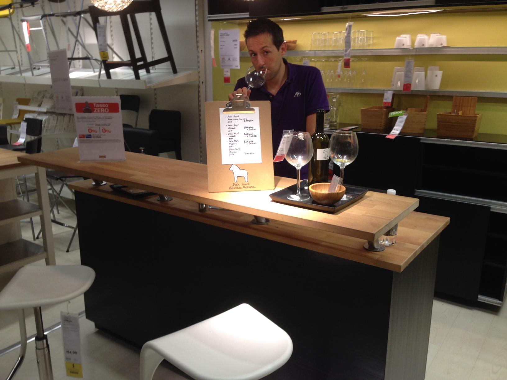 Angolo Bar Arredamento il nuovo bancone bar di ikea | aprire un bar