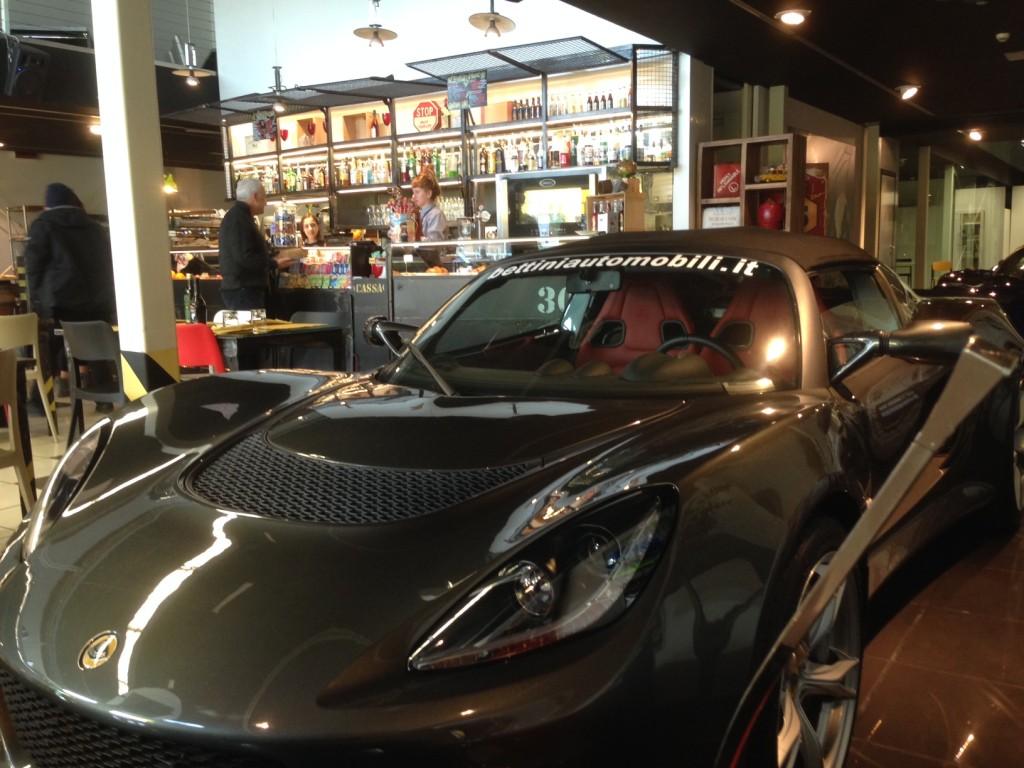 Avete mai mangiato accanto ad una Lotus?