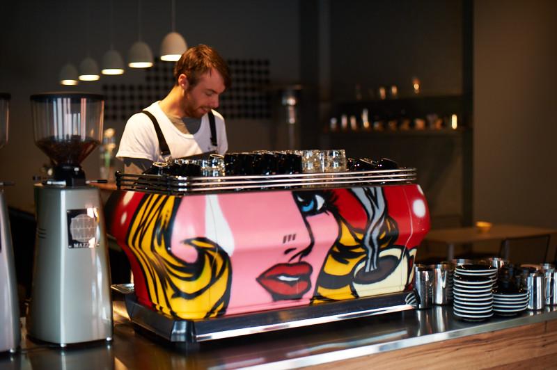 LE MACCHINE DA CAFFE' ESPRESSO DA BAR PERSONALIZZATE