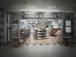 Coop? Non solo in Italia, stesso logo, ma questo negozio bio è in Svezia.
