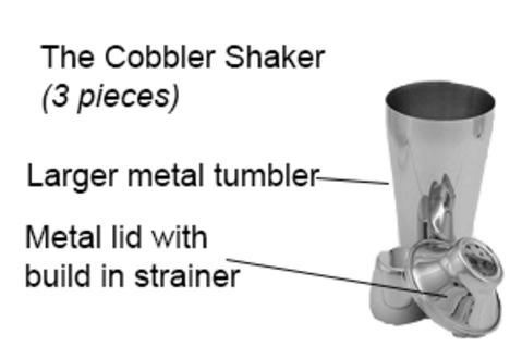 Com'è fatto uno shaker continentale secondo un sito inglese
