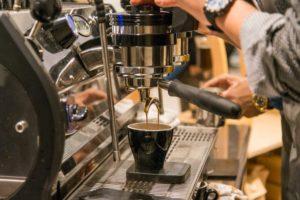 macchina da caffè - organizzare lo spazio