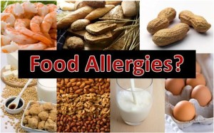 Frutta secca, crostacei, farine, latte, uova e... in questa foto le sostanze che più comunemente danno allergia.