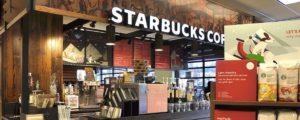 L'arredamento di Starbucks, un design molto riconoscibile...