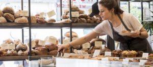 Una bella bakery inglese, per aumentare gli incassi bisogna considerare anche i vari bisogni del cliente nella giornata...