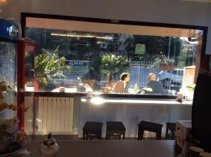 Lo spazio esterno del bar