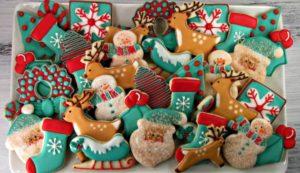 Aumentare la clientela di un bar per natale, anche vendendo coloratissimi biscotti!