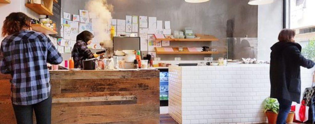 Il Bondi Coffee House di Casablanca, una caffetteria modernissima nella metropoli Marocchina.
