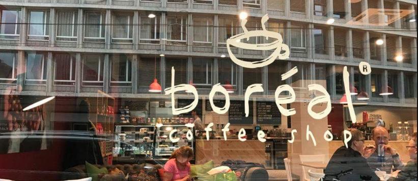 """Boreal è in Svizzera una piccola catena di caffetteria di alto livello, decisamente di """"third wave"""""""