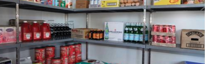 Per l'esempio di un inventario per bar la cella frigo è sempre da prendere in esame