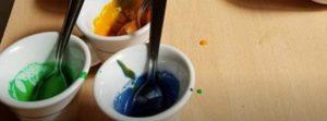 Coloranti pronti per i cappuccini