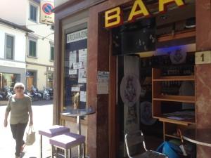 Il secondo bar visitato nella mattinata