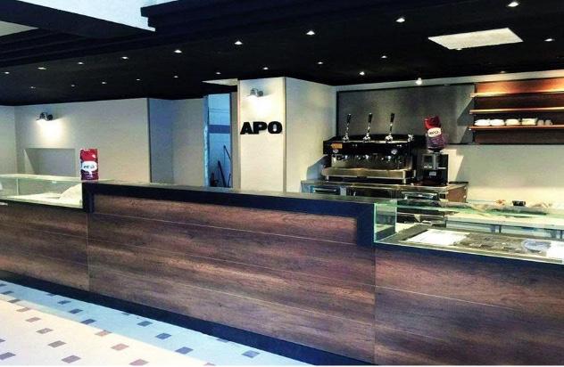 Il bar franchising Apo caffè