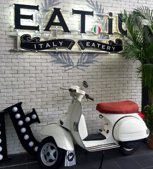 Eat.it è un noto ristorante italiano di Hong Kong