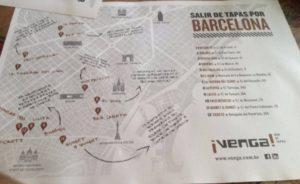 """Idea 9: siete frequentati da turisti? Le tovagliette possono diventare una mappa """"alternativa""""!"""