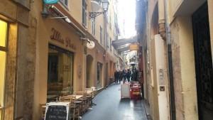 Illia Pasta, nel quartiere del vecchio mercato di Nizza.