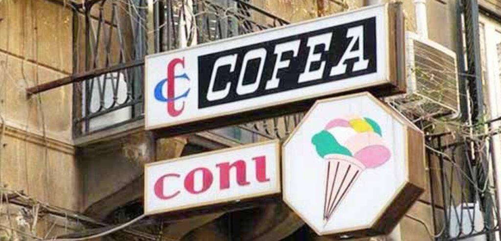 Una bella doppia insegna a bandiera a Palermo. Quanto si paga di imposta comunale sulla pubblicità in questo caso?