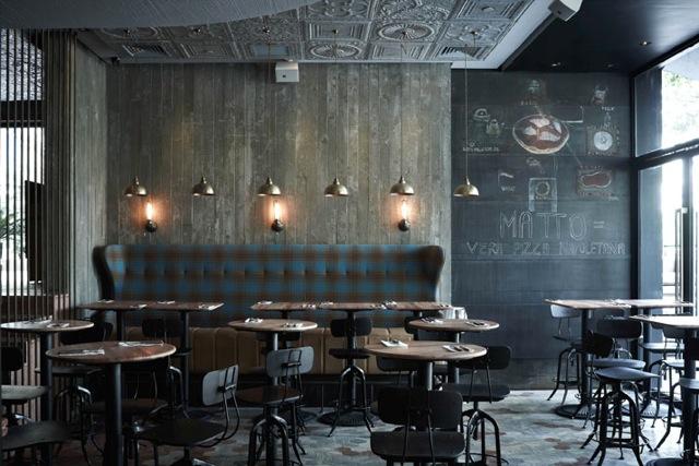 Comunicare la qualit le lavagne nei bar e ristoranti for Design interior cafe vintage