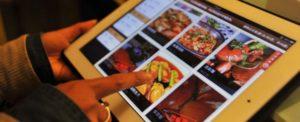 Un menù che rassicura è un menù che vende bene, anche in forma di tablet.