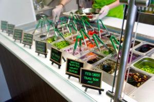 Permettere al cliente di scegliere gli ingredienti della sua insalata?