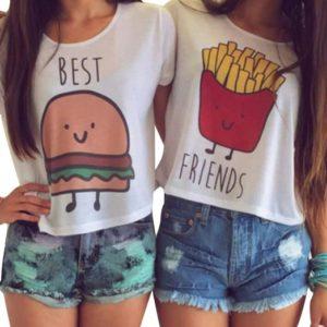 La pensate come loro sulle patatine fritte?
