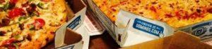 La pizza di Domino's, forse la più famosa pizzeria da asporto del mondo...