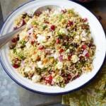 L'insalata di feta e quinoa.