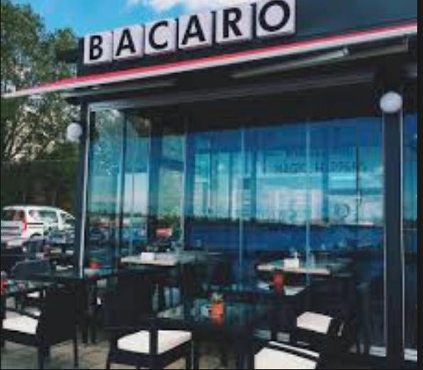 Il ristorante Italiano Bacaro, a Costanza, sulla costa del mar Nero.