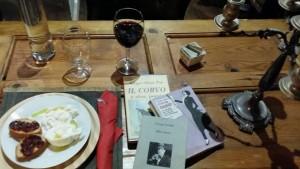 libri e pappa al Sofart Cafè!