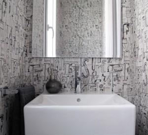 i bagni con lo specchio
