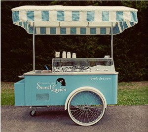 sweet lucies ice cream rolling booth