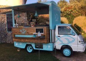 Vendesi furgone per lo street food