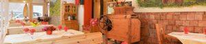 Ristorante il legno, per una esperienza locale.