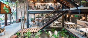 Arredo Urbano Bar Esterno.Arredare Un Bar Con Un Giardino Urbano Aprire Un Bar