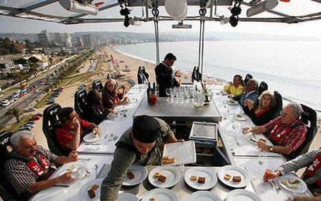 DINNER IN THE SKY, IL RISTORANTE FRA LE NUVOLE